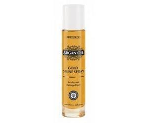 Спрей-блеск с Аргановым маслом для сухих и поврежденных волос