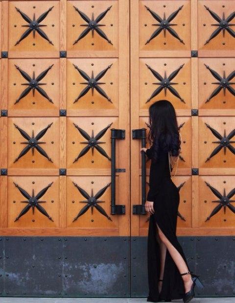Эвика образ №3 (девушка в черном)